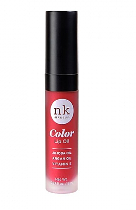 NKC-77 POPPY-NICKA K COLOR LIP OIL/6PCS 7