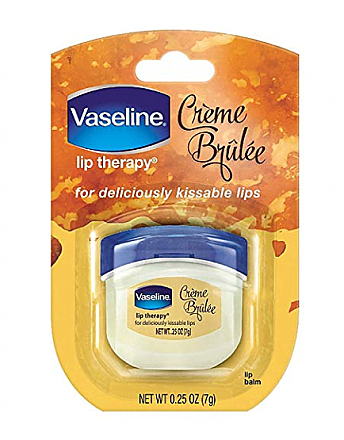 VASELINE LIP THERAPY-CREME BRULEE/PACK OF 8