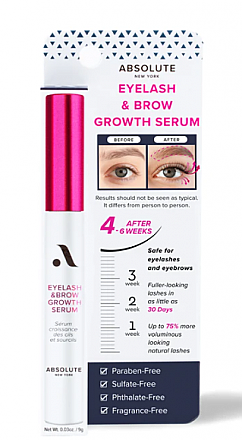 MEBS01-EYELASH&BROW GROWTH SERUM/3PC