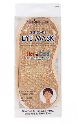 GEL BEADS EYE MASK-HOT&COLD/6PC