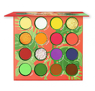 ES89 : Summer Stunna-16 Color Shadow Palette /6 PC
