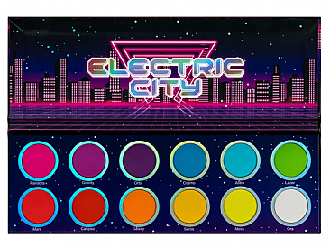 ELECTRIC CITY EYESHADOW PALETTE/1PC