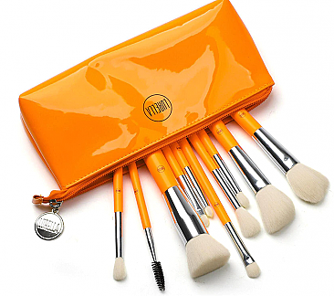 10PC NEON BRUSH SET/3PC