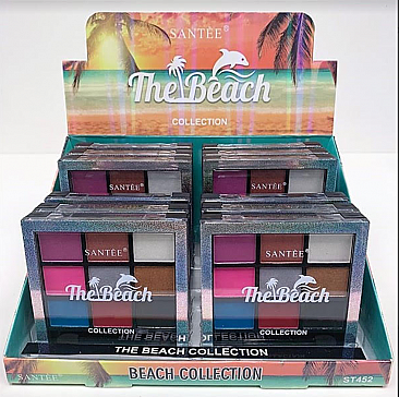 ST452 THE BEACH COLLECTION EYESHADOW/12PCS