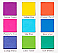 EBL9-C VOL1-BEUTY CREATIONS 9COLOR SPLASH OF HUES VOL1/12PCS