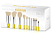 10PC NEON BRUSH SET-URANIUM/3PC