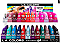 CAD89.1 LA COLOR CRAZE GEL POLISH/288PC