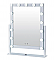 15 BULB VANITY MIRROR-WHITE/1PC