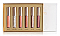 ULTRA DAZZLE LIPGLOSS HOLIDAY MINI VOL2/6PC