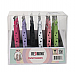 TW14-REDMINK Tweezers -24PC/DP